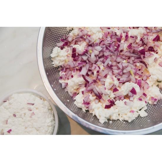 Gomolya sajtkészítő tanfolyam ajándék sajtformával